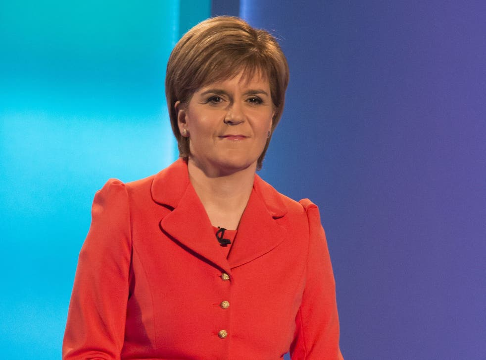 An average of three snap polls following the debate handed a slim victory to Nicola Sturgeon