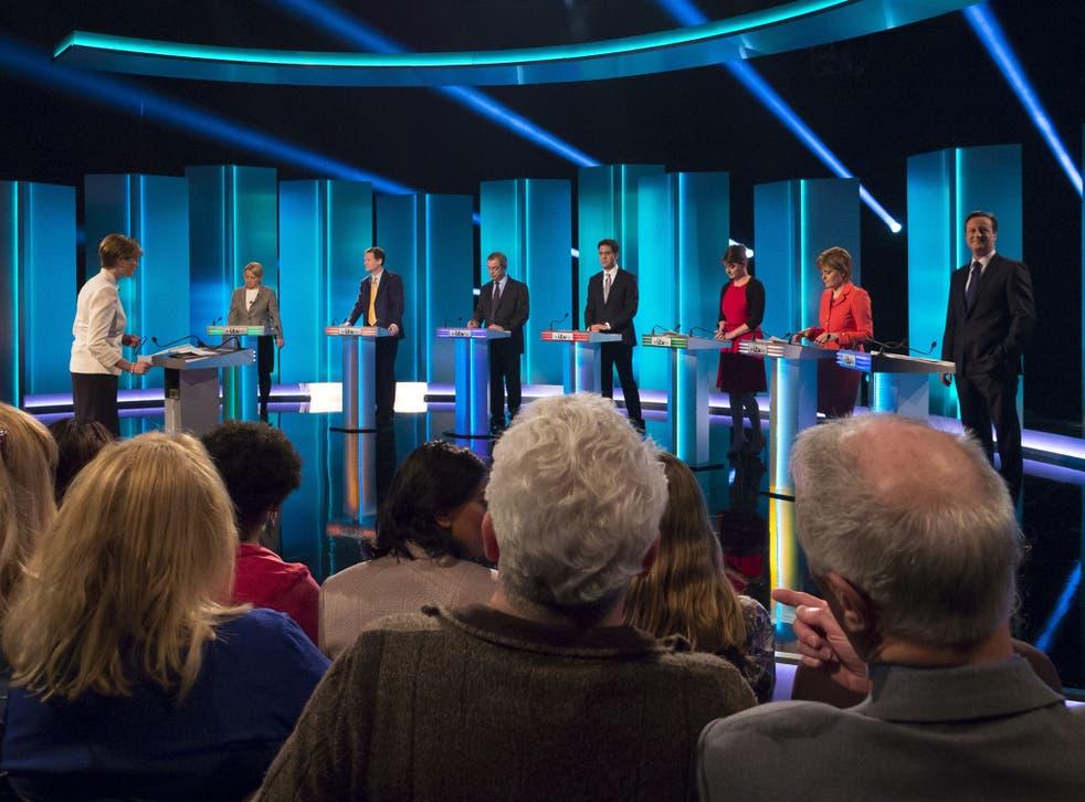 The leaders' debate