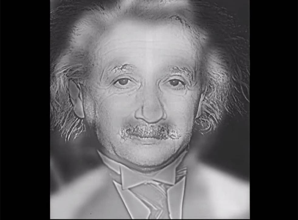 If you see Marilyn Monroe rather than Albert Einstein in this photo, you may need glasses.