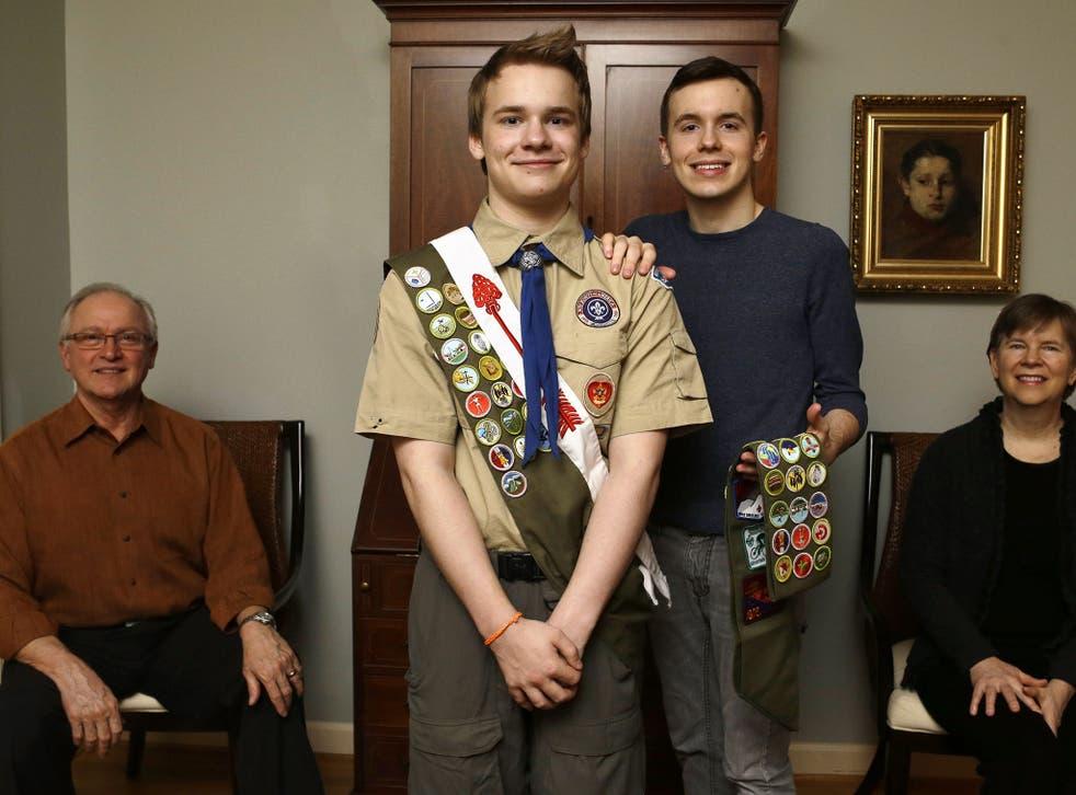 Boy Scout Pascal Tessier