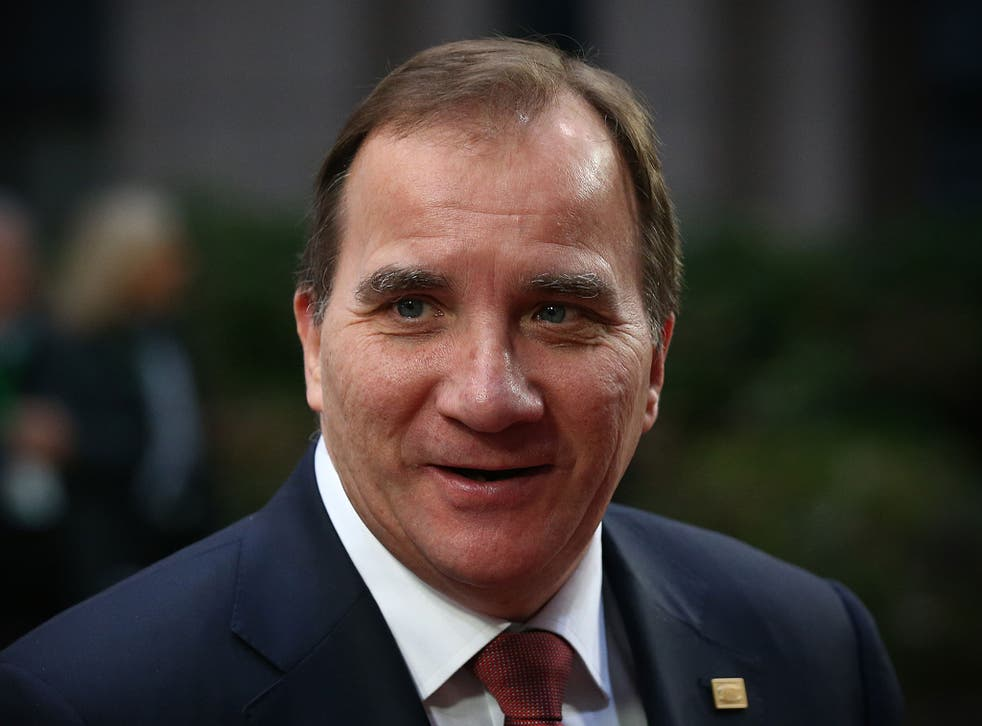 'If you are unsure, then refrain', said Swedish Prime Minister Stefan Löfven