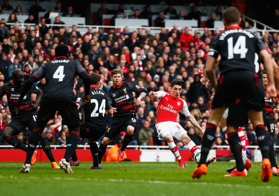 b09e66430 Arsenal 4 Liverpool 1  Impressive Hector Bellerin finds that travel  broadens the mind and widens his chances