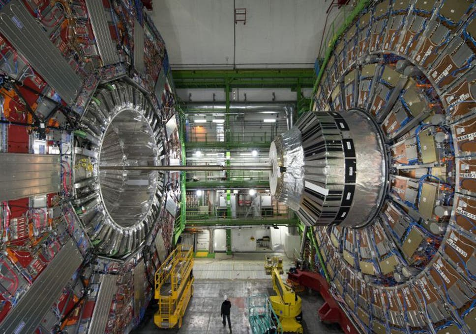 Scientists hope the Large Hadron Collider will provide dark matter