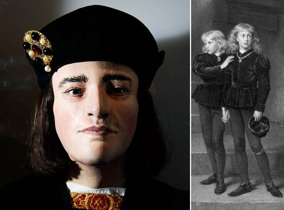 Most historians believe Richard killed his nephews in the summer of 1483, although there is no hard evidence linking him to themurders