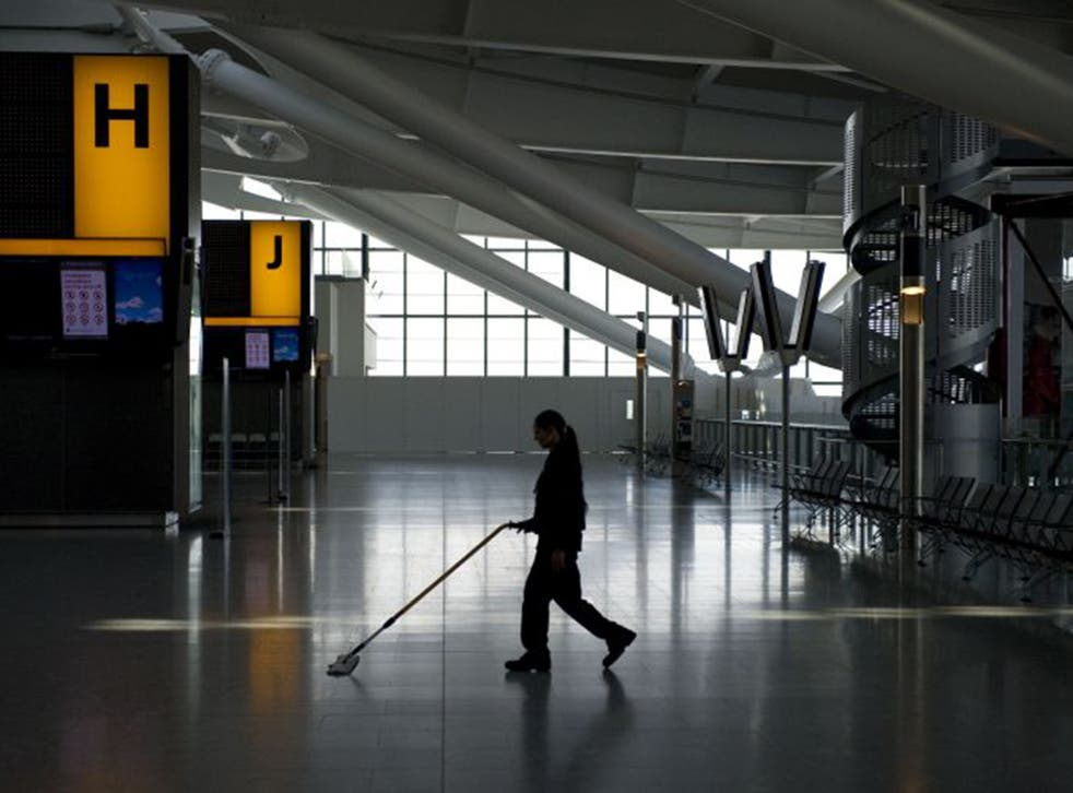 Low-paid staff like cleaners will lose out