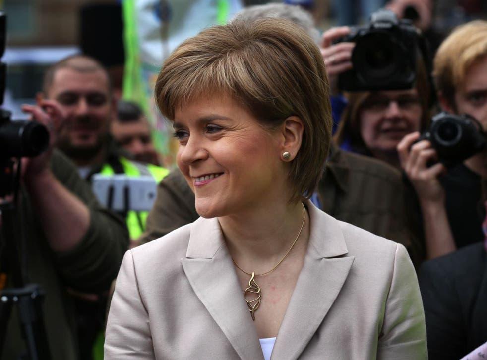 Nicola Sturgeon, said the claims in the memo are '100 per cent untrue'