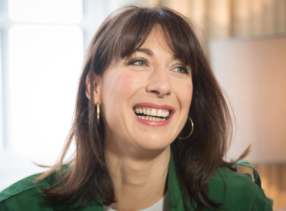 Samantha Cameron, British businesswoman and wife of Prime Minster David Cameron