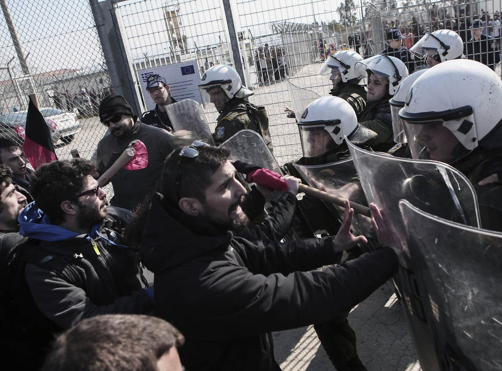 The occupants of the centre are among about 3,500 detainees who will be released from the camps if Greece's new anti-austerity rulers make good on their promises.