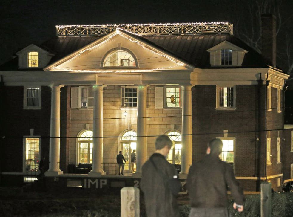 The article prompted University of Virginia President Teresa Sullivan to temporarily suspend fraternity and sorority social events