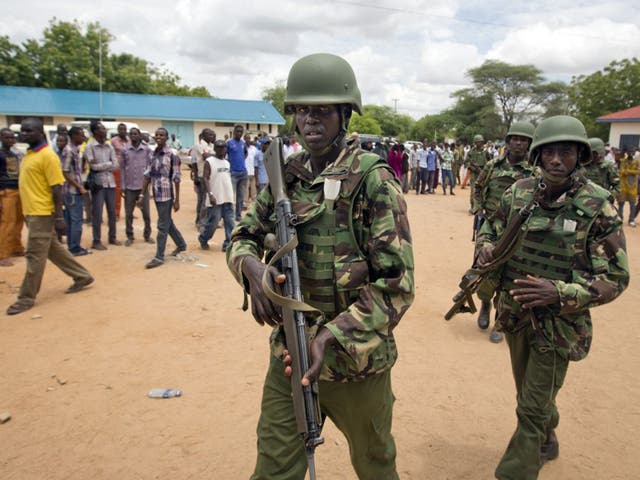 <p>Kenya continues to face a threat from al-Shabaab extremists intent on forcing its troops out of neighbouring Somalia</p>