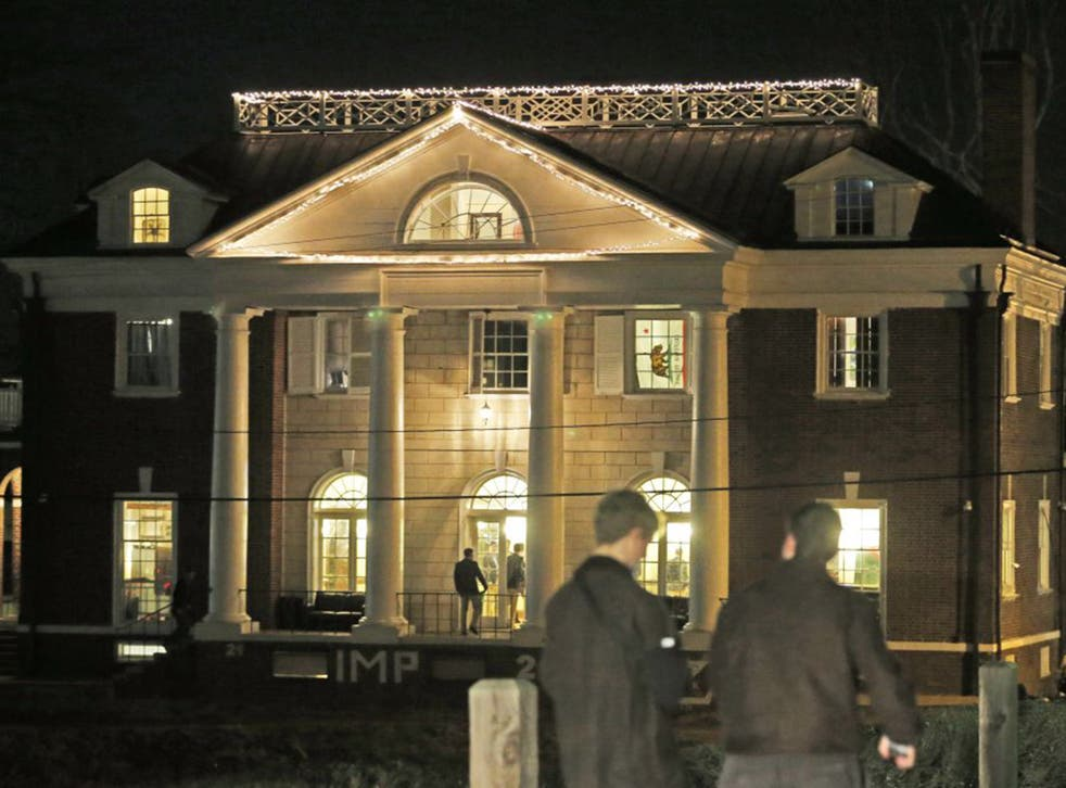 """The story, entitled """"A Rape on Campus"""", centred on the Phi Kappa Psi house at the University of Virginia in Charlottesville"""