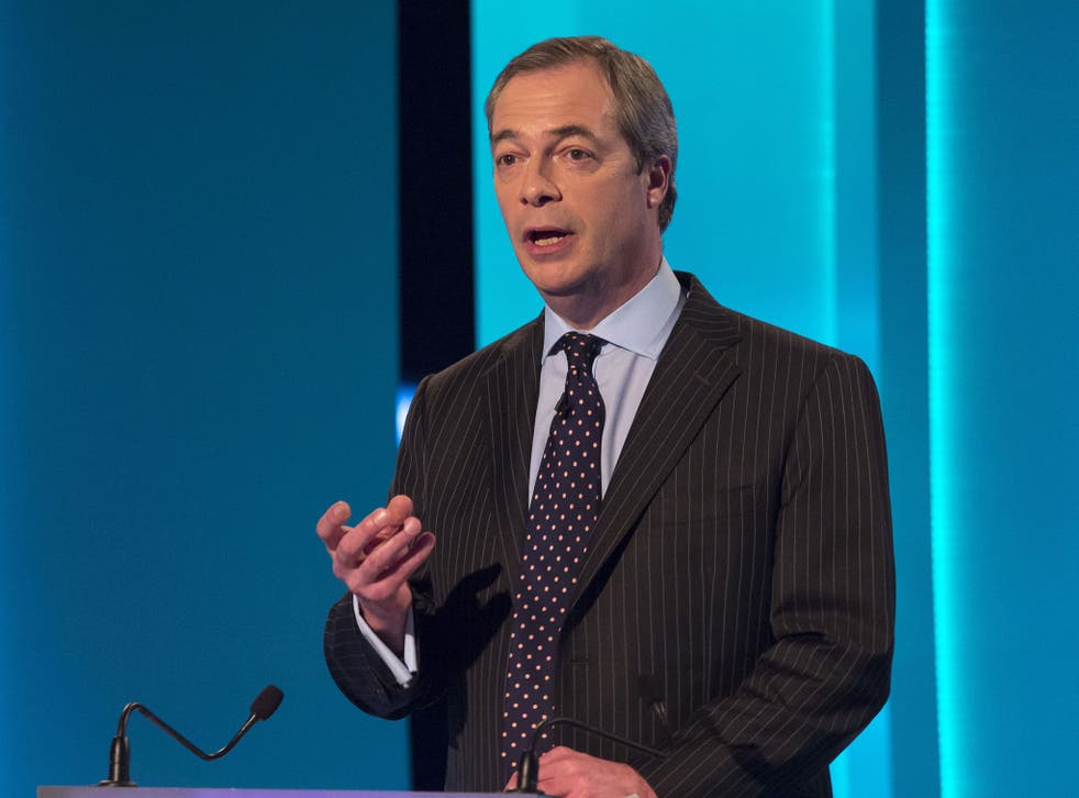 UKIP leader Nigel Farage sparked controversy during the ITV Leader's Debate 2015 for saying that immigrants should not be able to use the NHS for free.