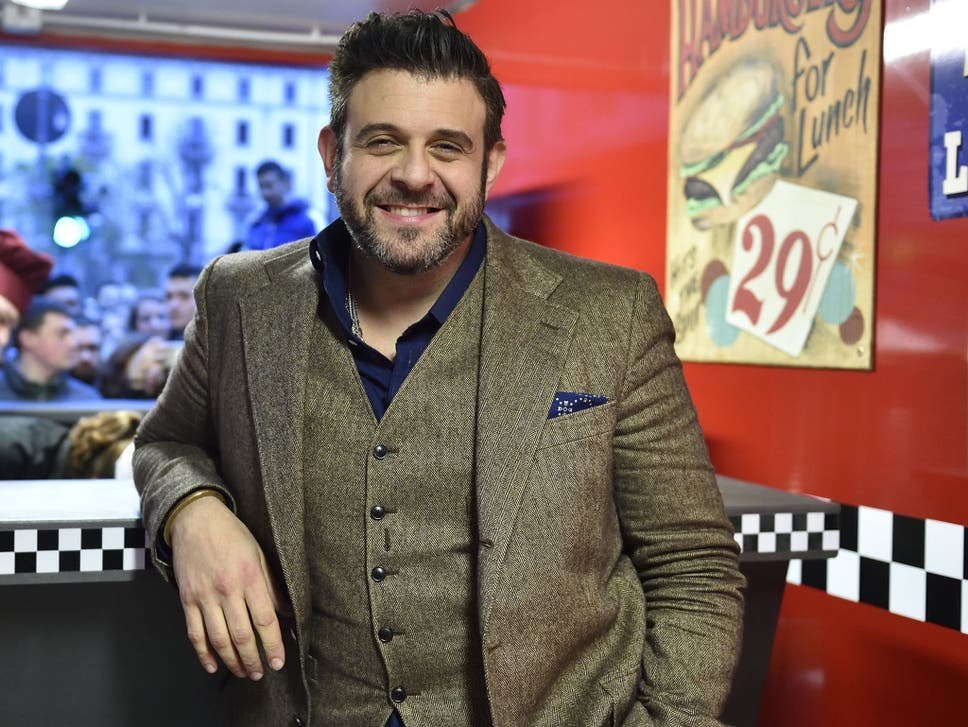 Man v foods adam richman ive been vegan for three months the the food presenter on eating healthily responsibly and having respect for animals whether you consume them or not forumfinder Gallery