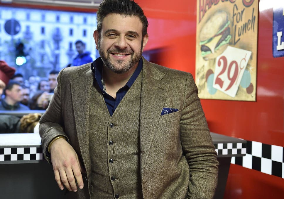 Man v foods adam richman ive been vegan for three months the the food presenter on eating healthily responsibly and having respect for animals whether you consume them or not forumfinder Images