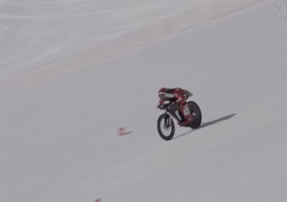 French Cyclist Breaks World Mountain Bike Speed Record By Travelling