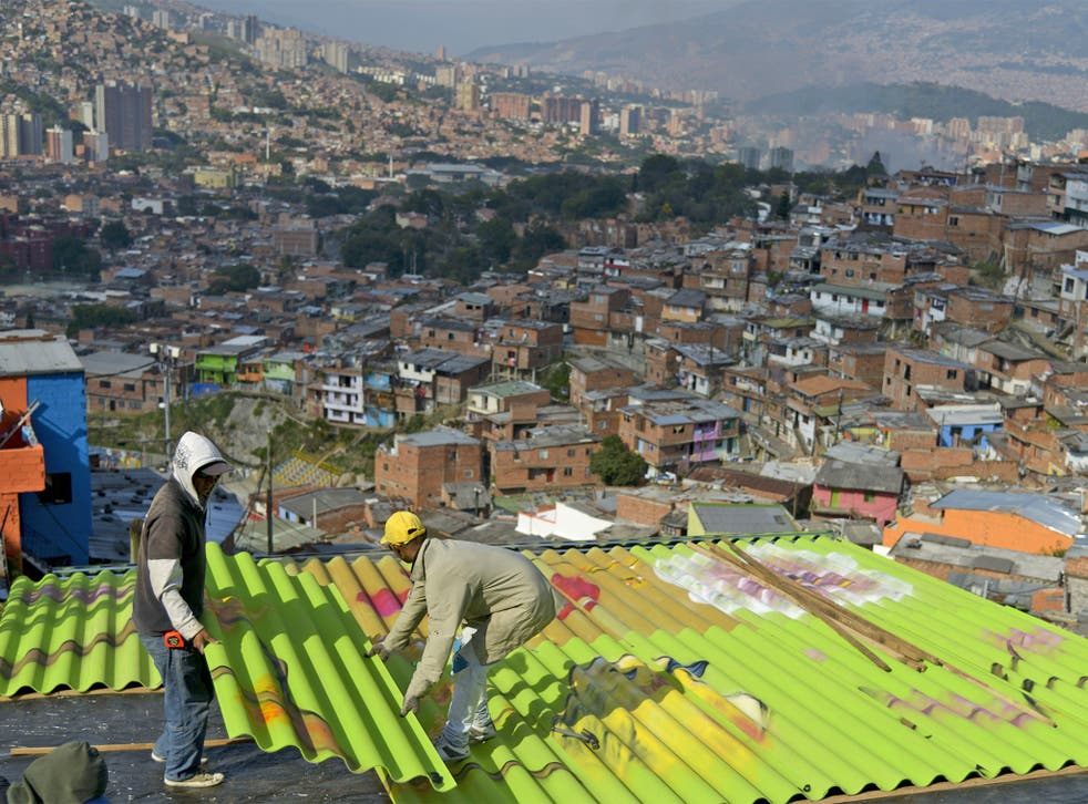 Just 20 years ago, Medellin was the most murderous city in the world. But today it is being transformed with the community reclaiming public spaces