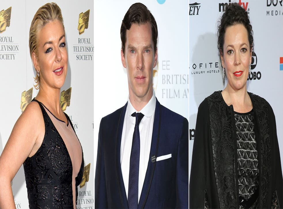 Sheridan Smith, Benedict Cumberbatch and Olivia Colman are nominated for Bafta TV Awards 2015