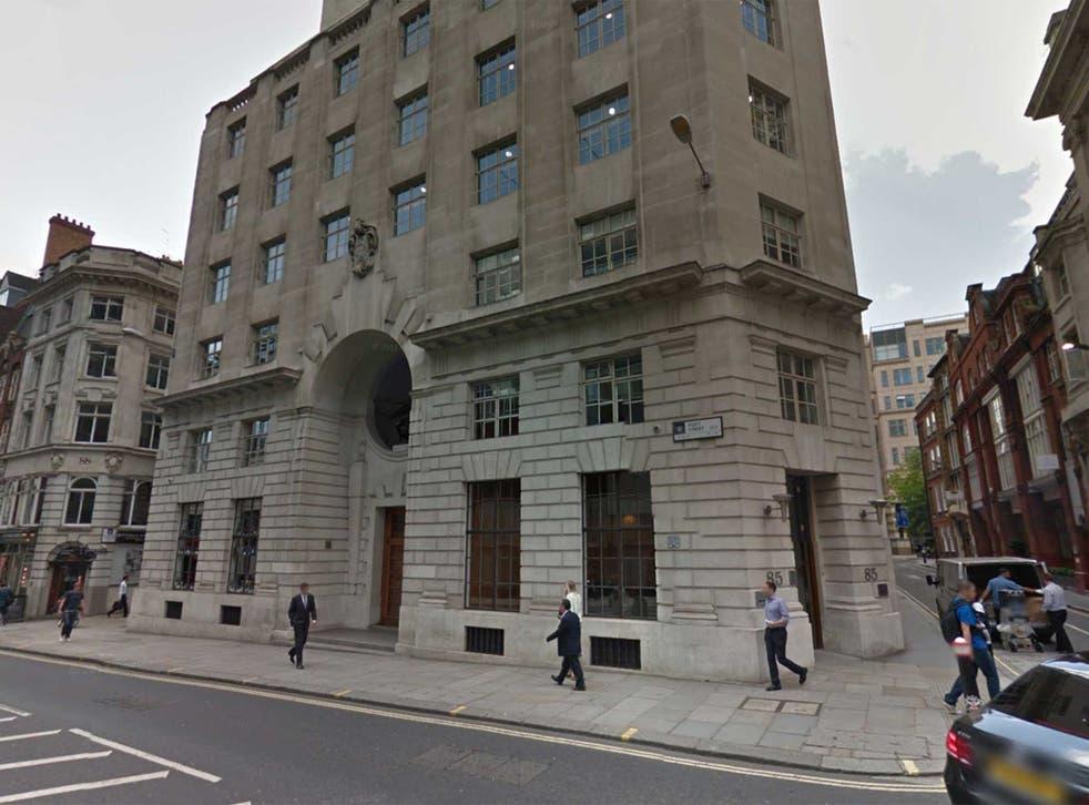 Sberbank offices in London