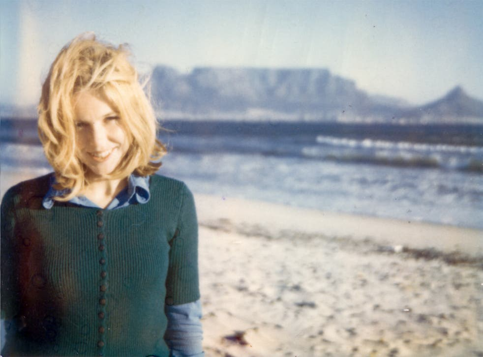 Cape crusader: Mary Chamberlain in front of Table Mountain in March 1972, shortly after arriving in South Africa on her mission for the ANC