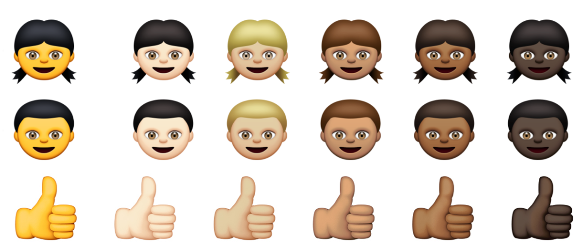 New Emojis IOS 83 Brings Racially Diverse Smiley Faces And More