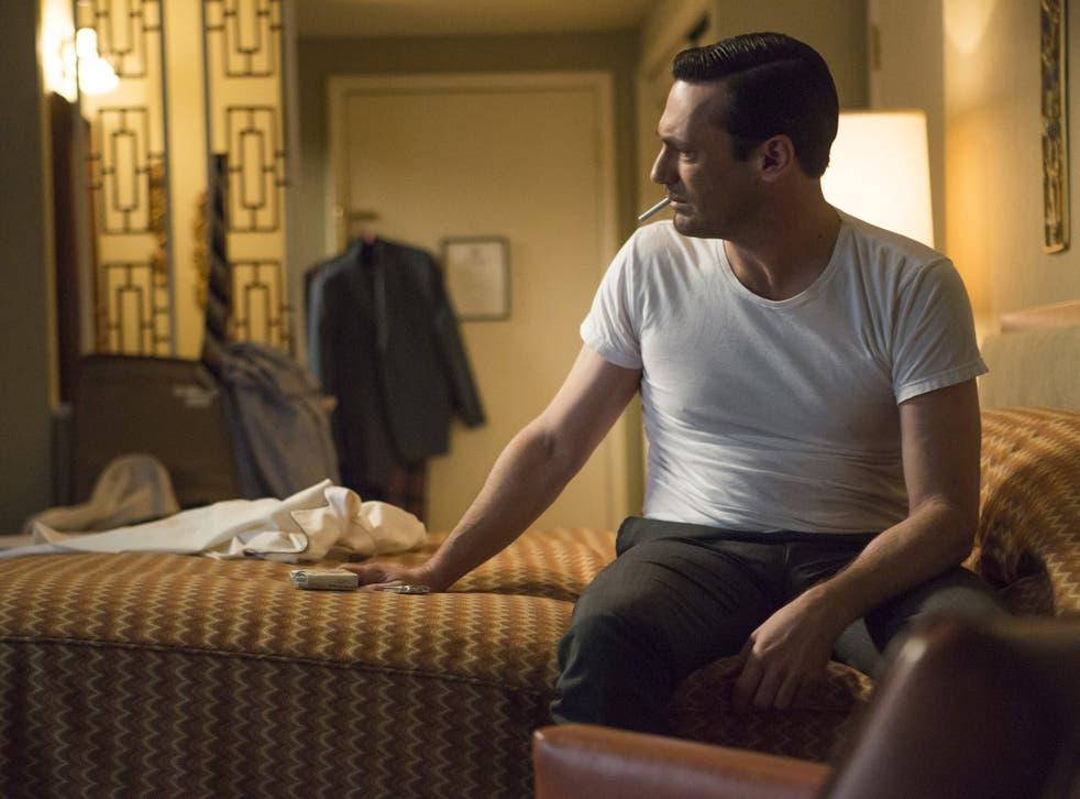 Living like there's no tomorrow: Jon Hamm as Don Draper in the final season of 'Mad Men'