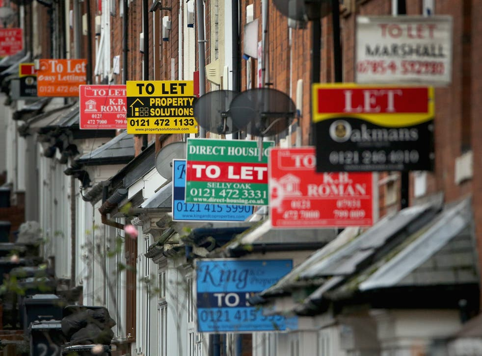 The South West of England saw the largest price increases, with average rent prices 13.6 per cent higher than a year ago.