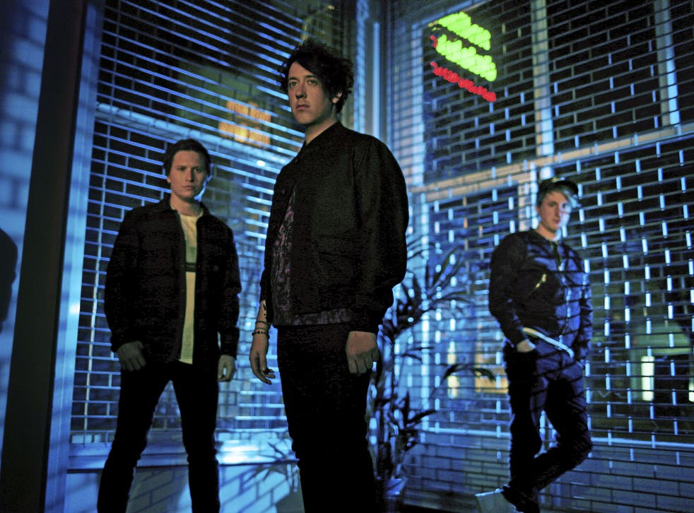The Wombats (with Matthew Murphy centre)