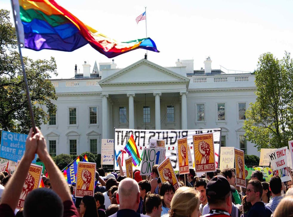 The White House has been making small steps to promote LGBT rights, officials claim
