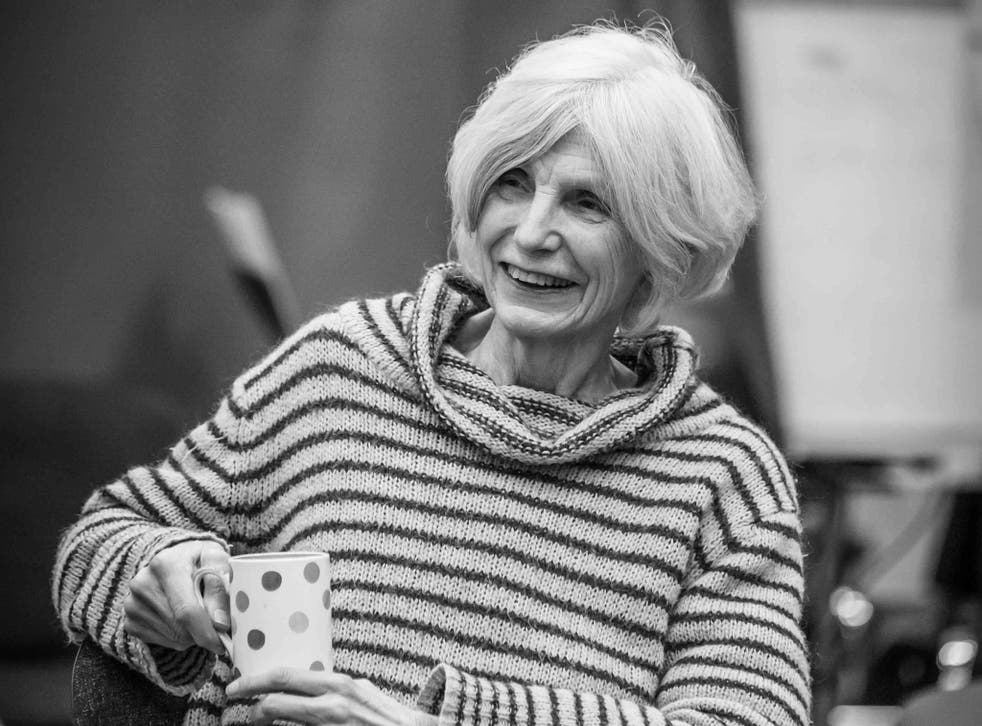 The playwright Caryl Churchill
