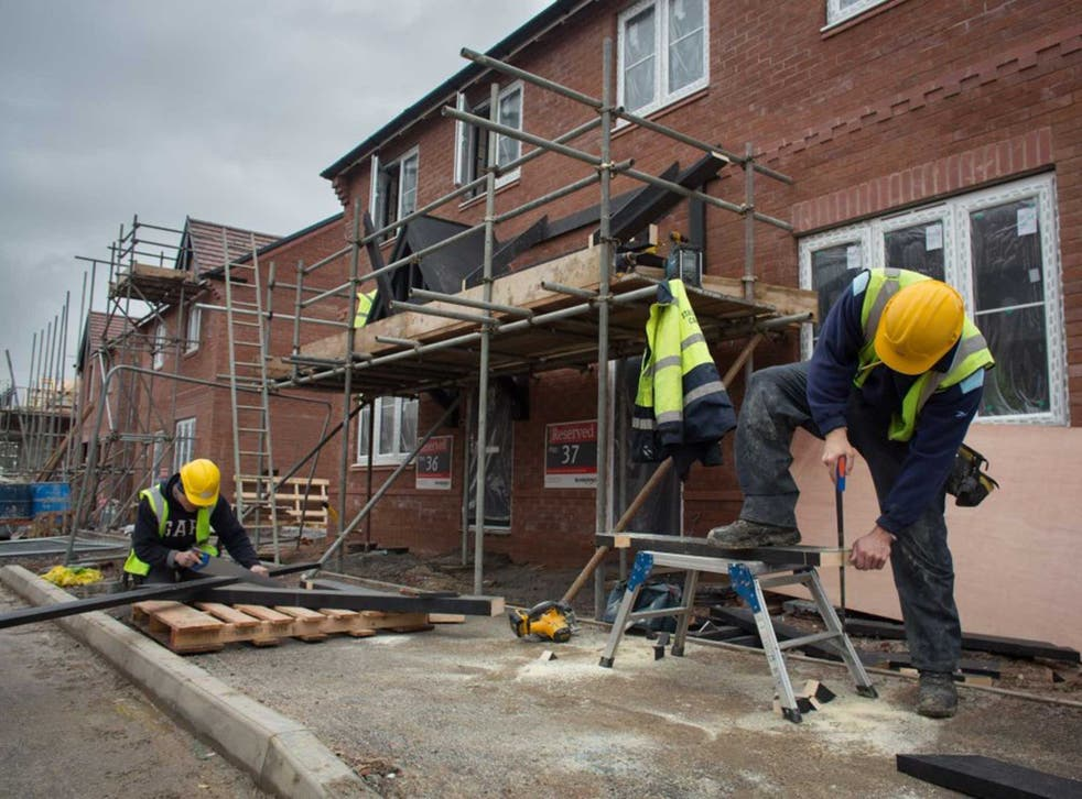 Uncertainty about the result of the general election helped push Britain's builders down to their worst performance in nearly two years in April