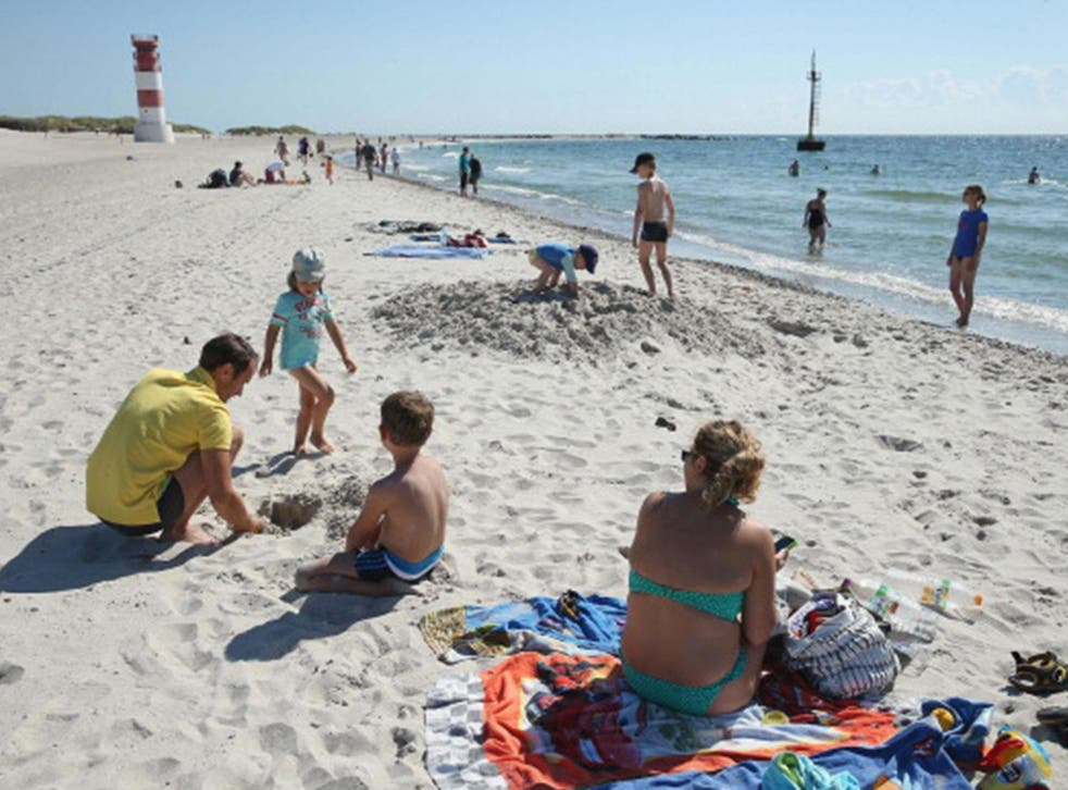 More than a third of families prefer to go to a sunny beach resort abroad for their holidays, according to the research