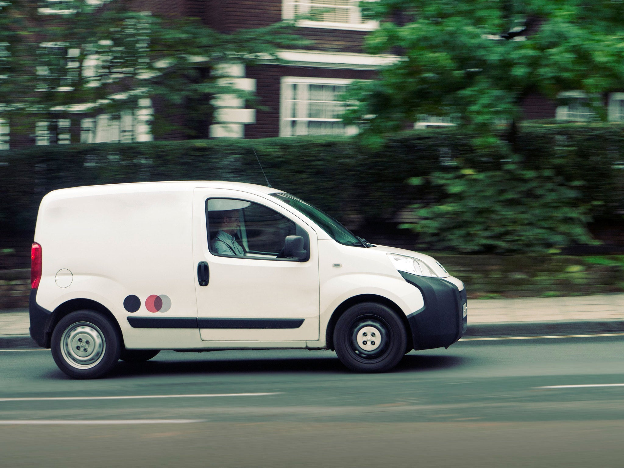 white van man back on the road as new vehicle sales accelerate the