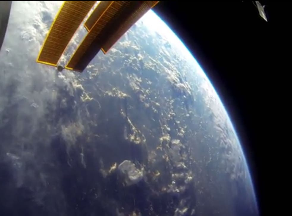 The two Nasa astronauts captured some breathtaking images of earth from the ISS (Nasa)