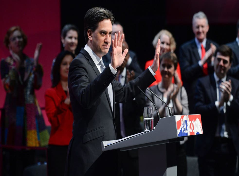 Ed Miliband unveiled his party's manifesto at the Coronation Street set in Manchester