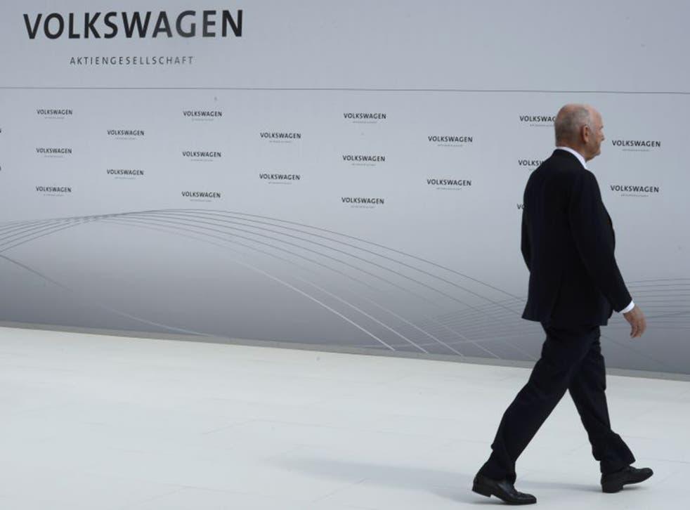 Ferdinand Piech, the chairman, at the Volkswagen plant in Wolfsburg, Germany