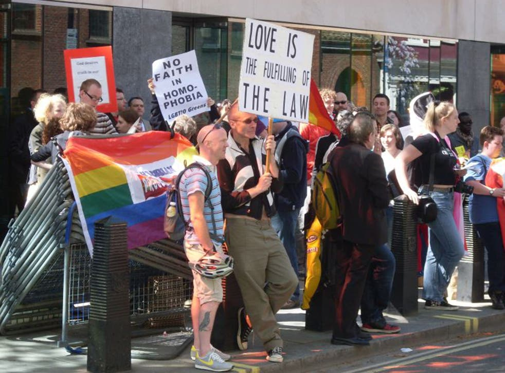 Past conversion therapy conferences have resulted in protests