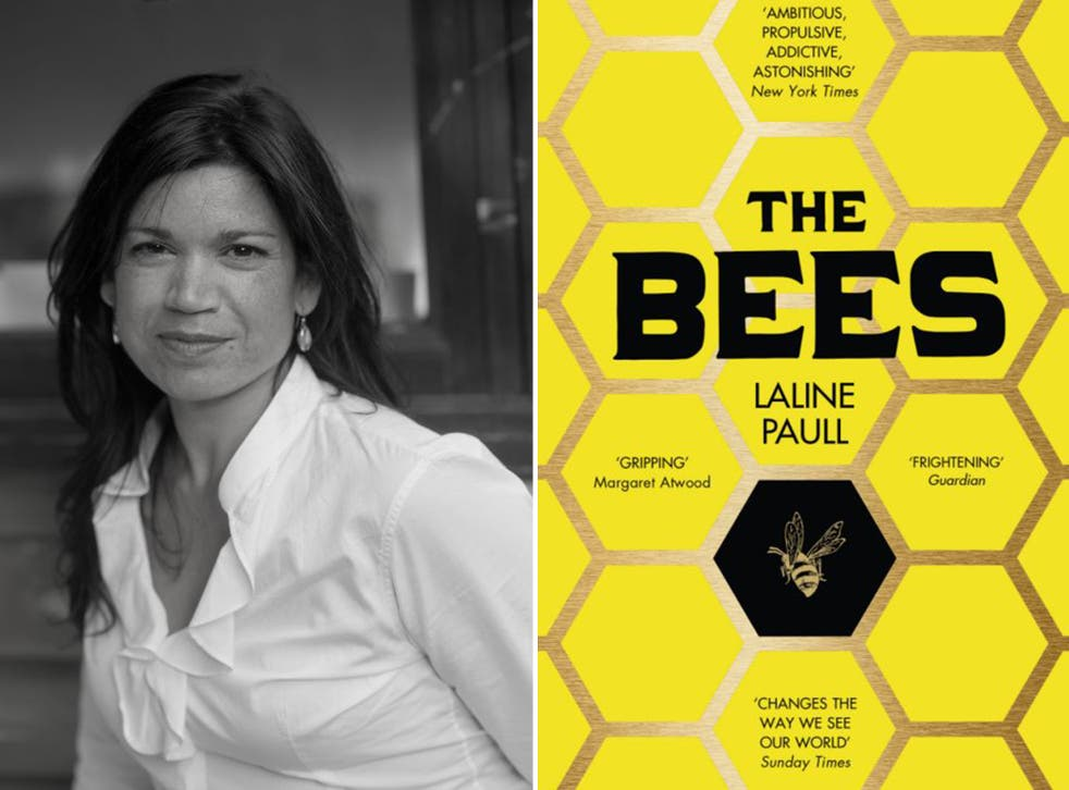 Laline Paull was inspired to write her novel 'The Bees' by the death from breast cancer of a close friend who kept bees