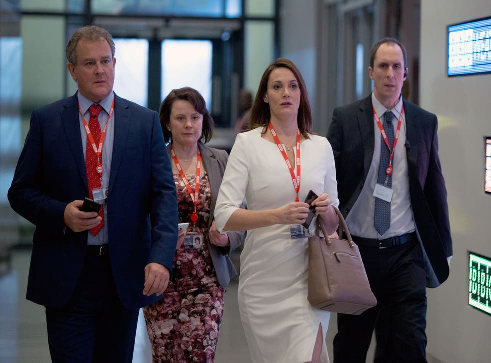 The cast of W1A return for a second series