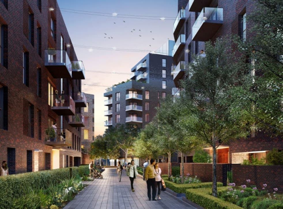 The first private owners of flats at LendLease's Trafalgar Place development in Elephant and Castle are due to move in this month