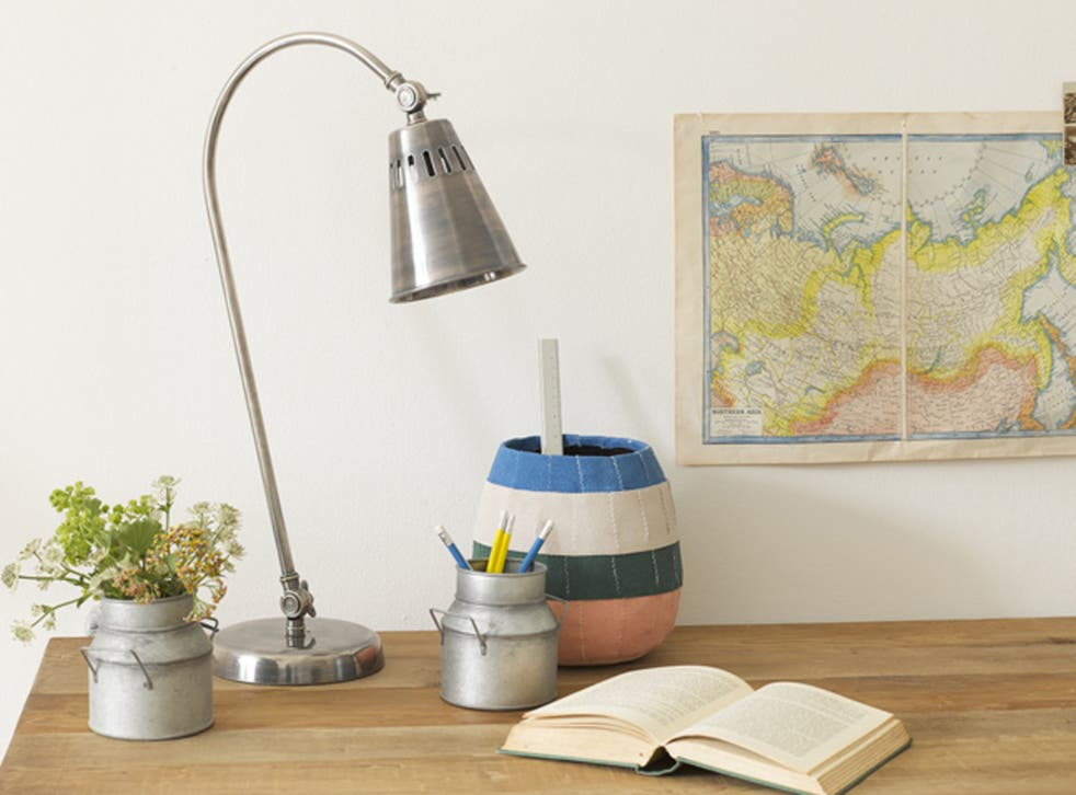 Set the mood right with a good table lamp