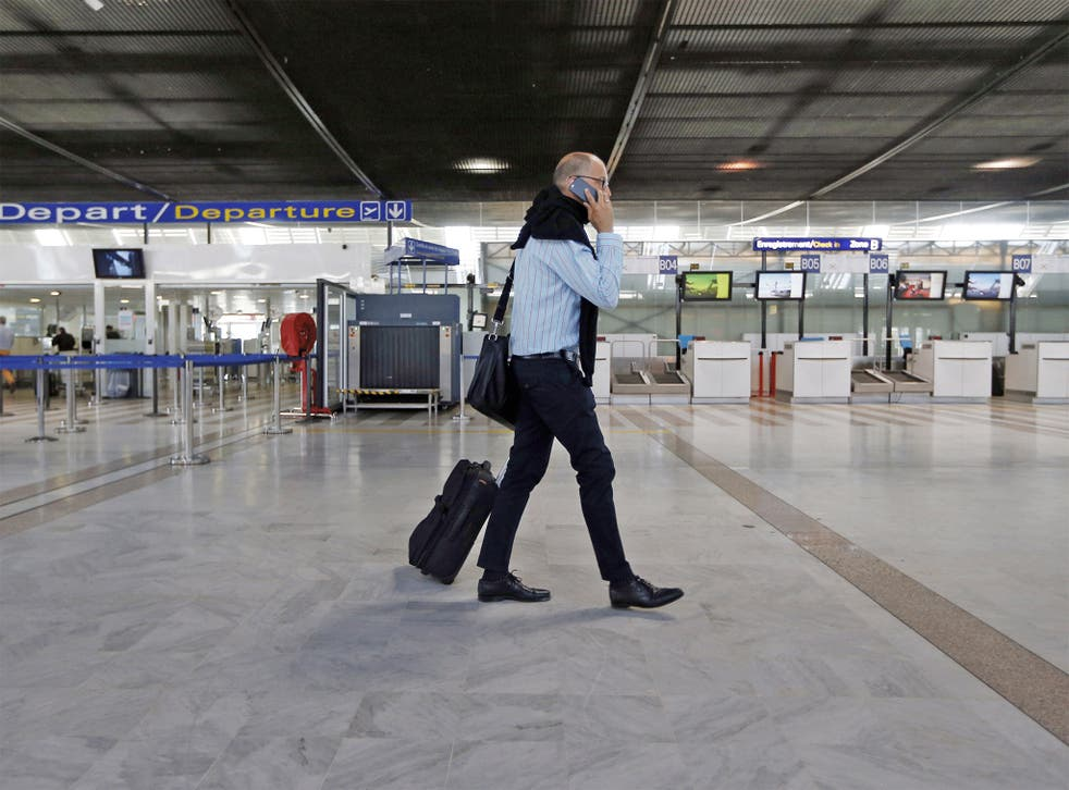 Grounded: it's best if your outgoing airline can fly you home