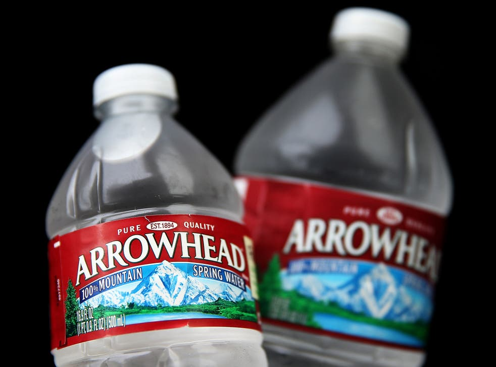 Arrowhead Mountain Spring Water. Nestle is the largest producer of bottled water in the US