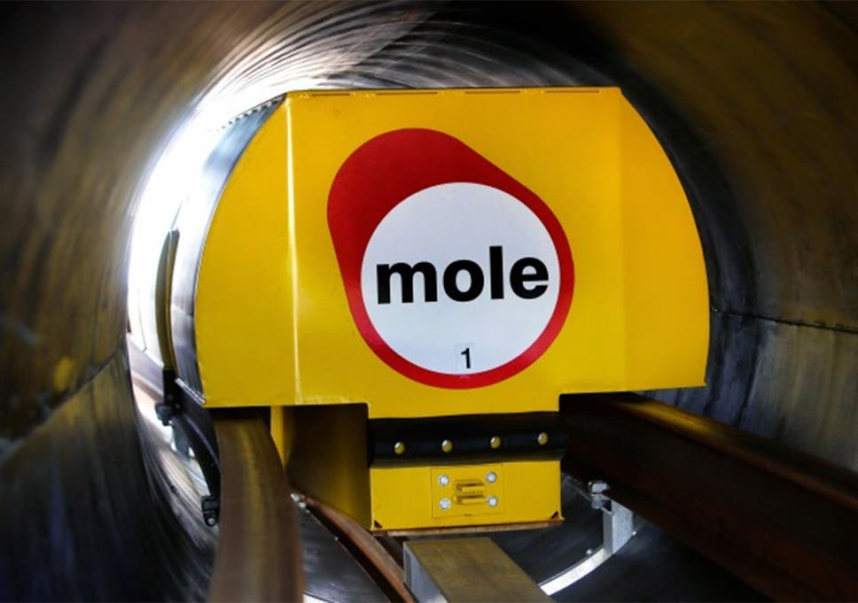 Forget drones, think moles: the subterranean delivery