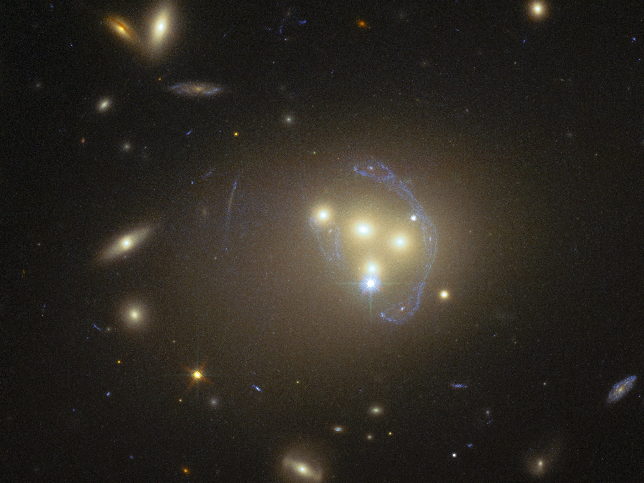 'Dark matter' not as dark as first thought: Scientists ...