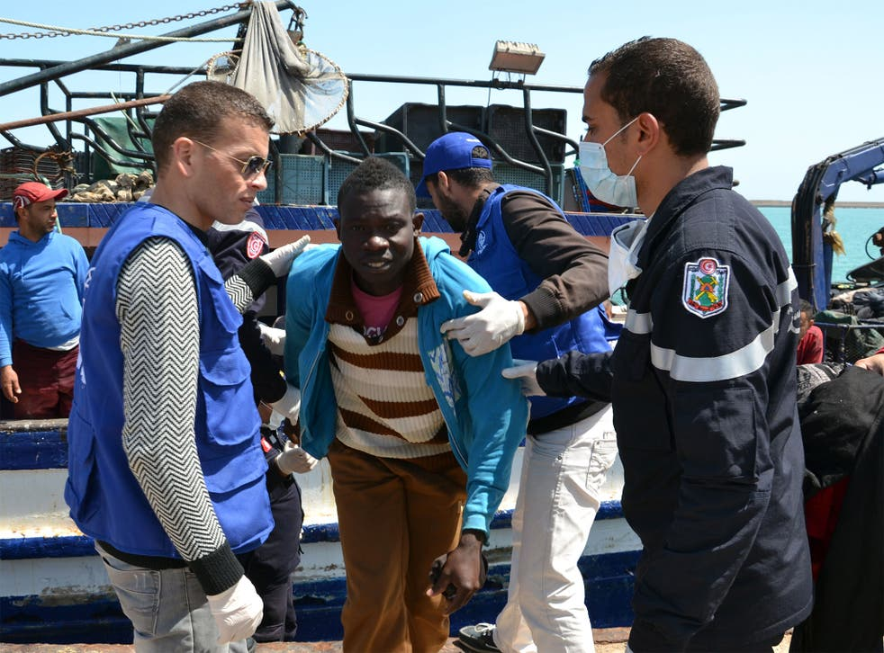 Migrants have told rescue workers how African migrants are often forced below deck while Middle Eastern passengers go on top