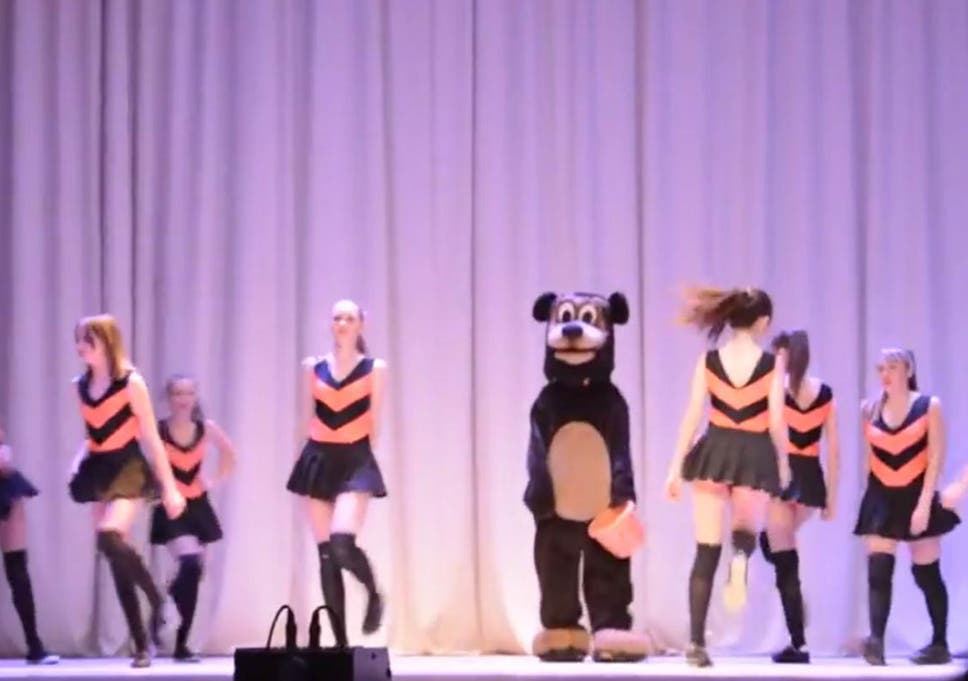 Bees And Winnie The Pooh Was Performed At The Credo School In Orenburg