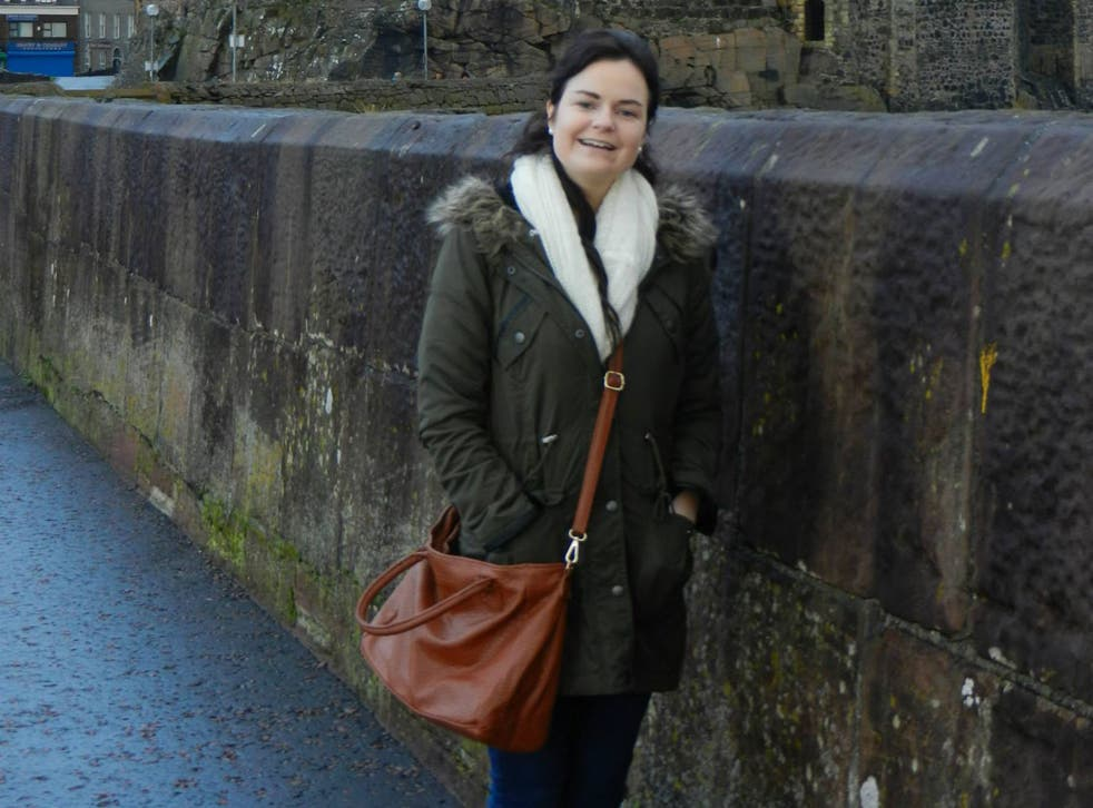 Karen Buckley, 24, went missing in Glasgow in the early hours of Sunday 12 April