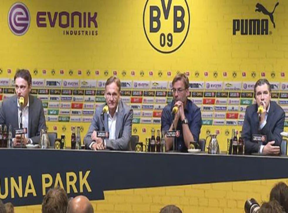Jurgen Klopp confirms he is leaving Borussia Dortmund at the end of the season