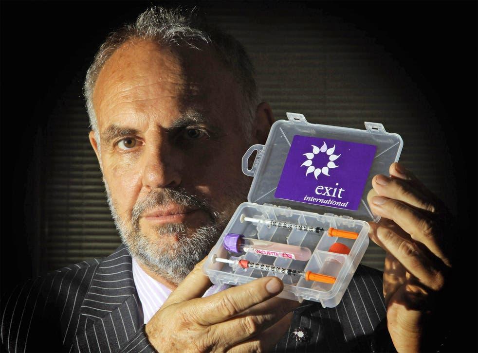 Euthanasia campaigner Dr Philip Nitschke