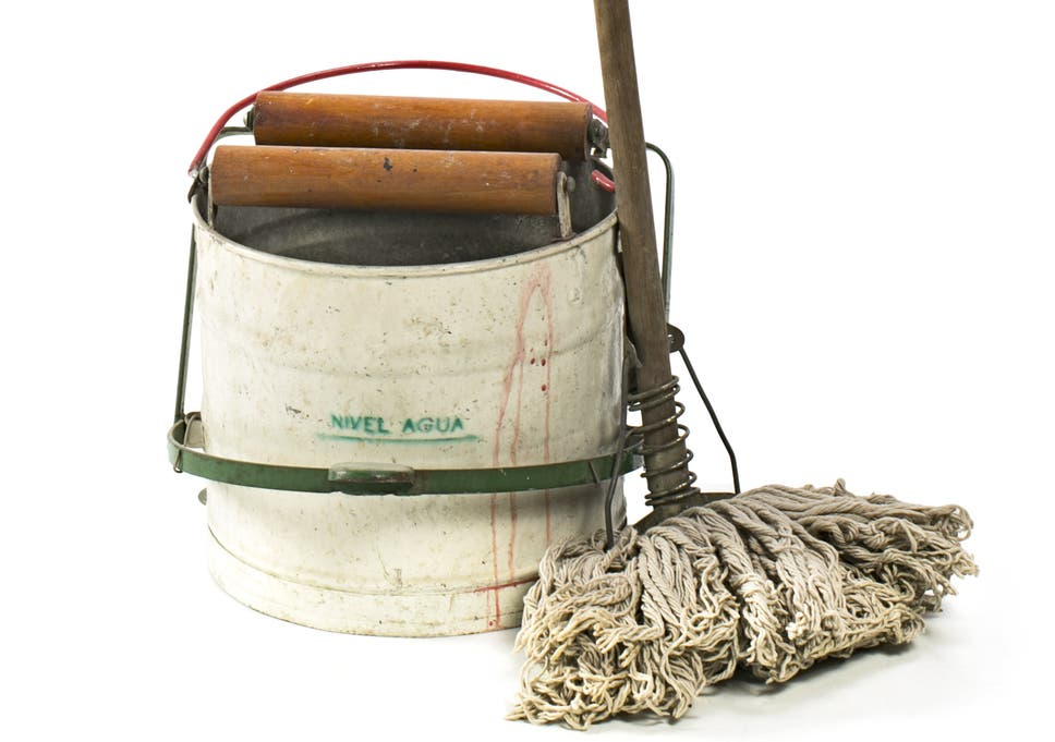 First Commercially Available Mop And Bucket On Sale For 300 At